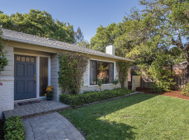 1820 Santa Cruz Avenue  - SOLD